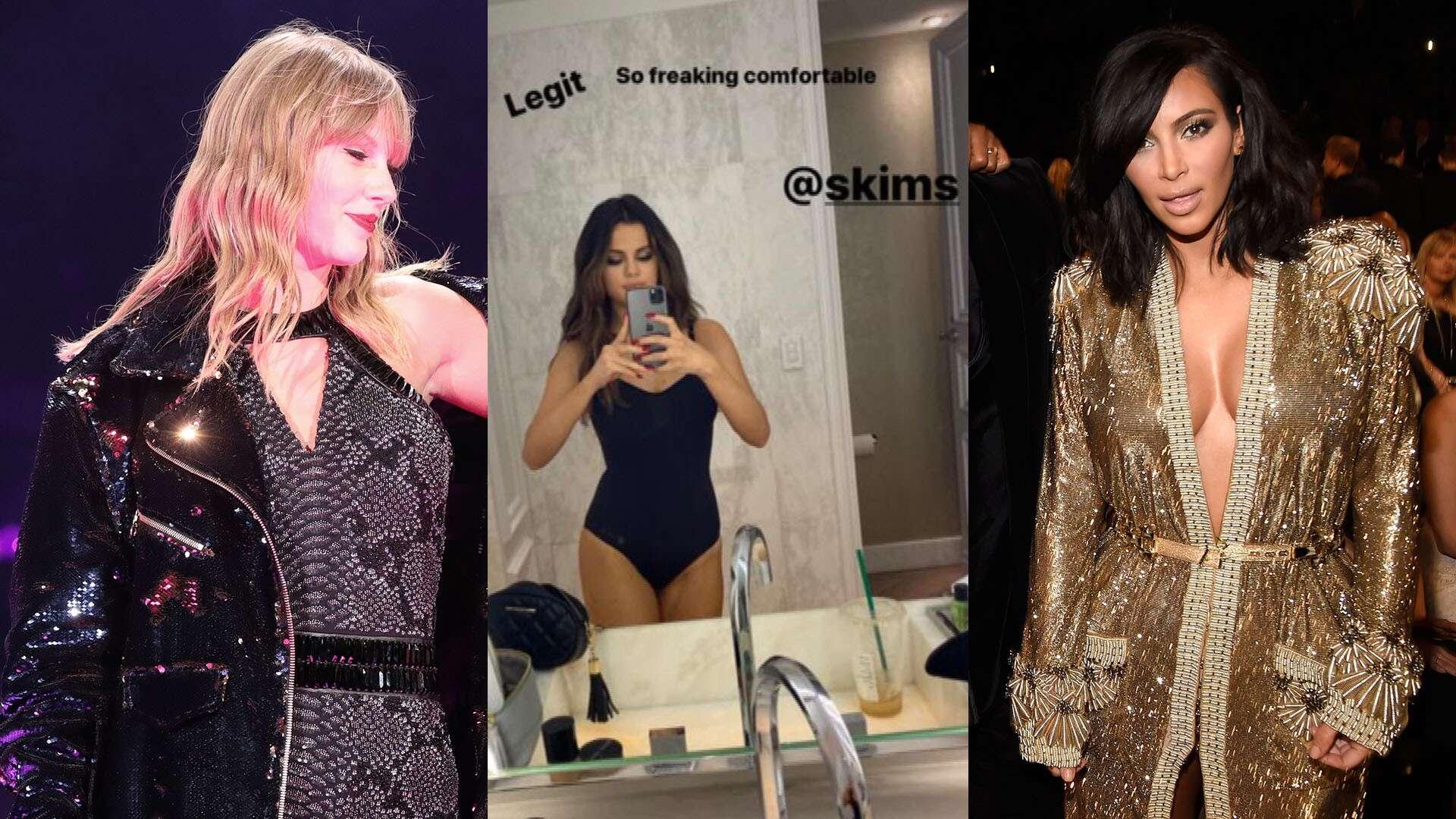 Selena Gómez apoya marca de Kim Kardashian