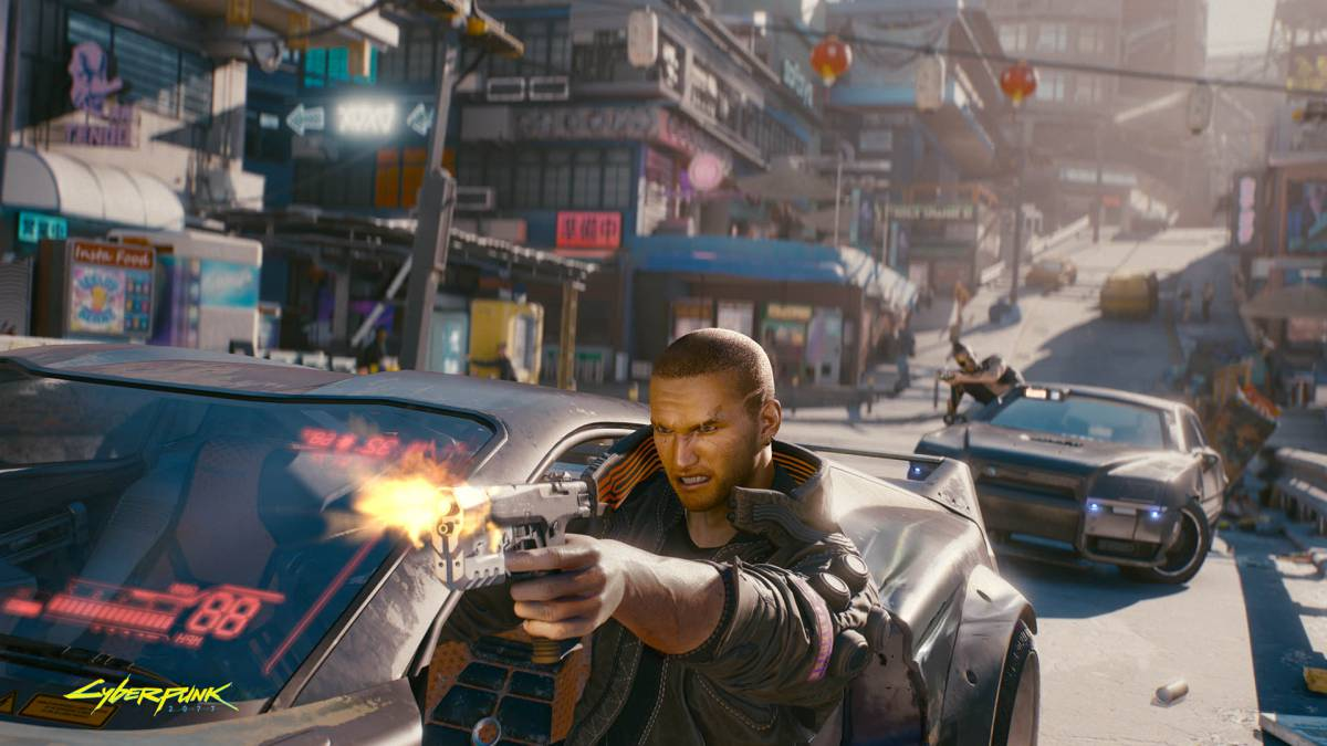 Cyberpunk 2077 y Keanu Reeves