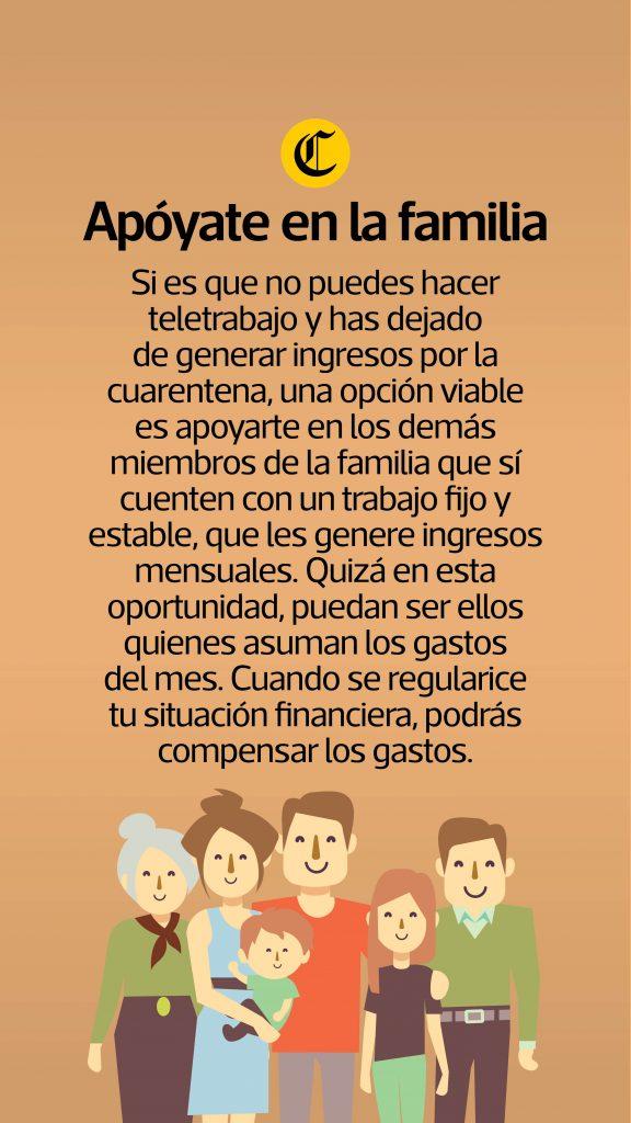 Apoyarse en Familia