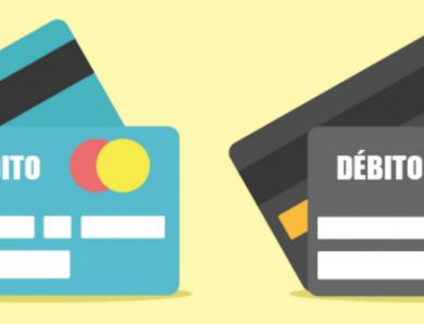¿Cuáles son las diferencias entre tarjeta de crédito y débito?